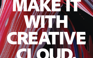 Adobe Make It With Creative Cloud Sample student tweet