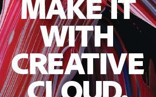 Adobe Make It With Creative Cloud Sample faculty tweet